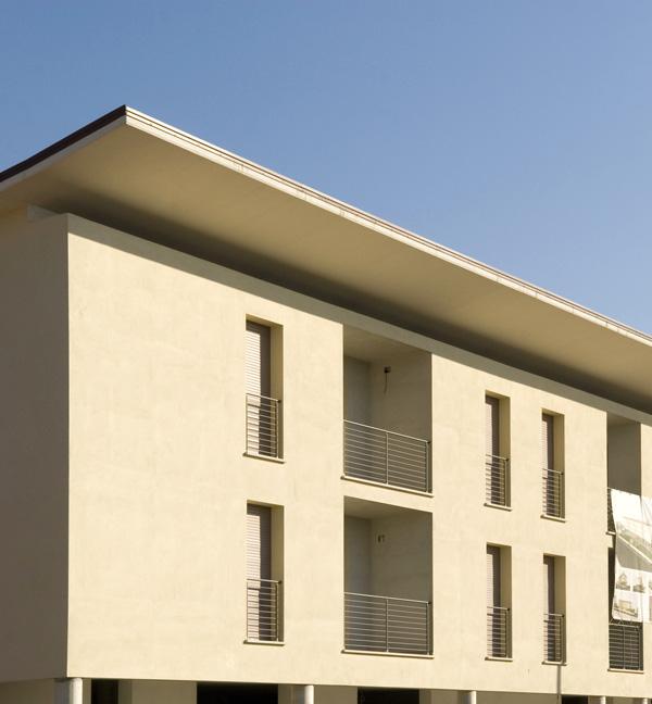 Progetti di nuovi edifici complesso residenziale e for Progetti di costruzione commerciale gratuiti