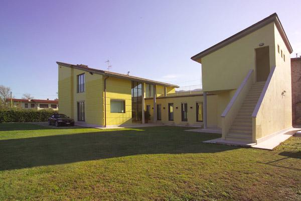 progetti di nuovi edifici casa unifamiliare capannori