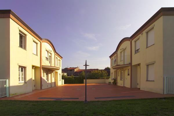 progetti di nuovi edifici casa trifamiliare lucca